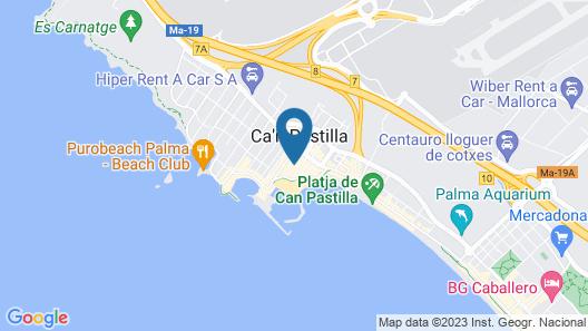 Hotel HM Alma Beach Map