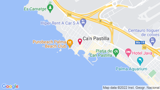 Hotel JS Palma Stay - Adults Only Map
