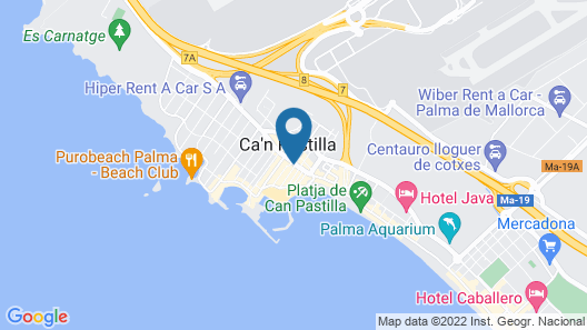 Hotel Balear Map
