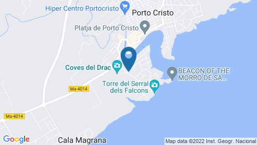 Hotel Sol i Vida Map