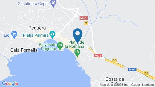 Hotel Bahía Map