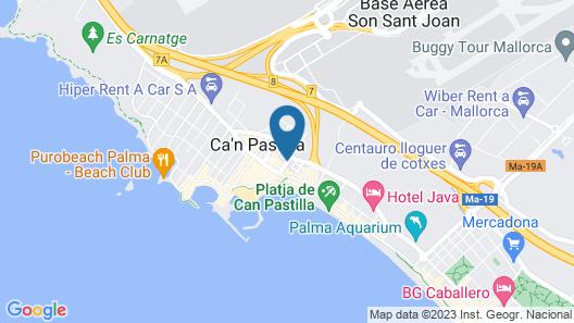 Hotel Amic Gala Map