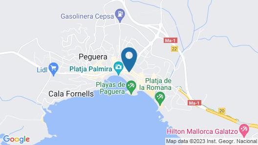 Secrets Mallorca Villamil Resort & Spa- Adults Only (+18) Map
