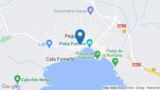 Hotel Creta Paguera Map