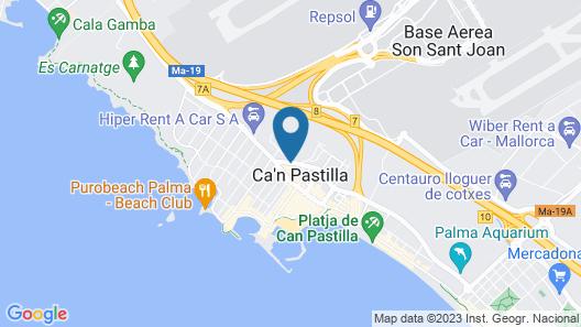 Hotel Linda Map