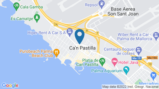 Hotel Roc Linda Map