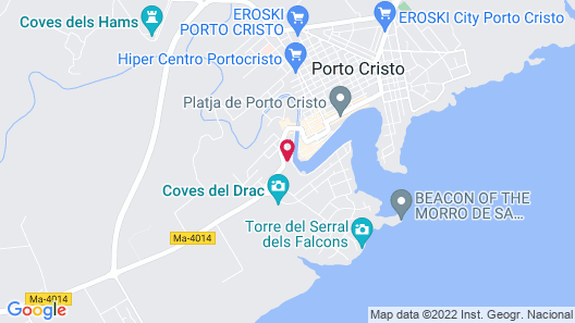 Apartamentos Porto Drach Map
