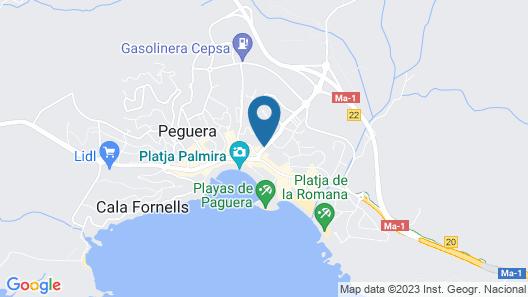 Cupid'or Hotel & Restaurant Map