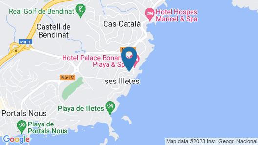 Hotel Bon Sol Map