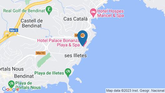 Hotel Bonanza Park by Olivia Hotels Map