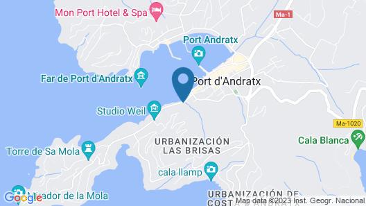 Hotel Villa Italia Map