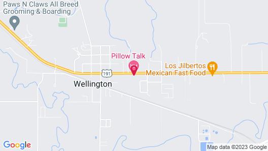 Pillow Talk Motel Map