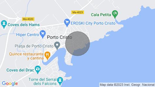 IT IS Ganxo House Porto Cristo Map