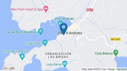 Hostal Residència Catalina Vera Map