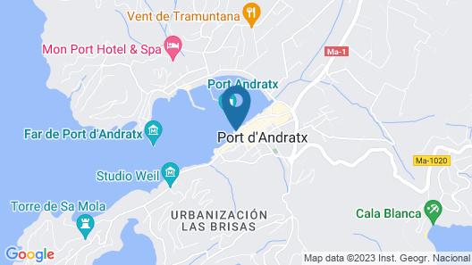 Hotel Brismar Map