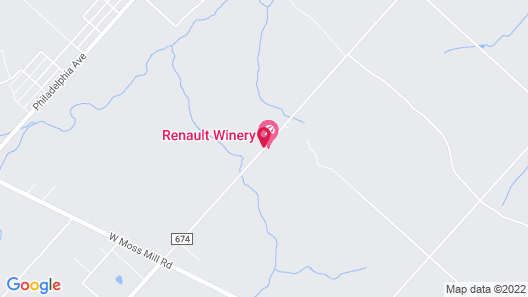 Chateau Renault Map
