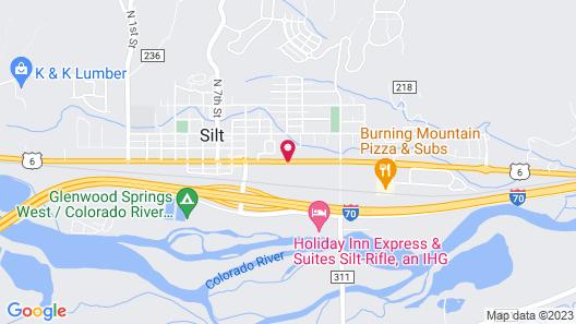 Red River Inn Silt-Rifle Map