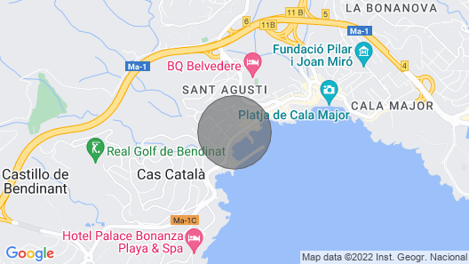 House with free wifi, barbecue and air conditioning in Palma Map