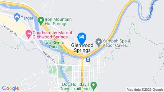 Hotel Colorado Map