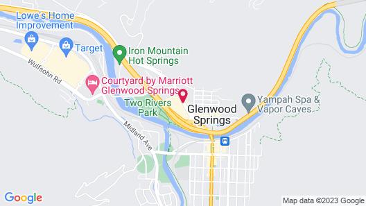 Glenwood Springs Inn Map