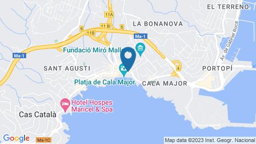 Nixe Palace Hotel Map