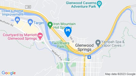 Hampton Inn Glenwood Springs Map