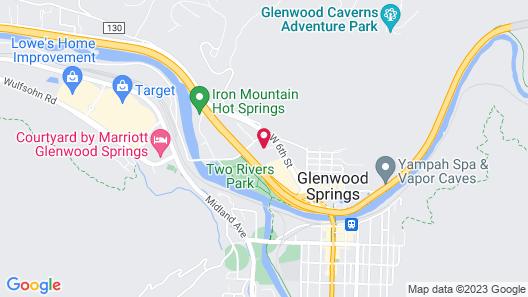 Holiday Inn Express Glenwood Springs, an IHG Hotel Map