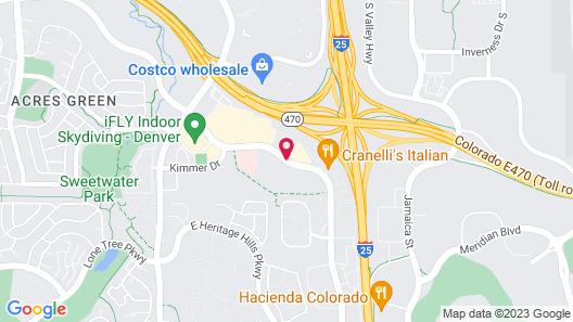 Element Denver Park Meadows Map