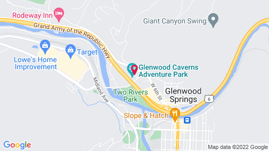 Hotel Glenwood Springs Map