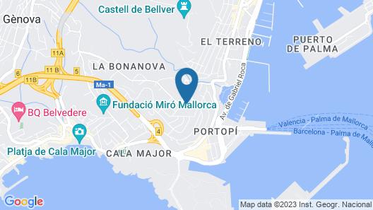 GPRO Valparaiso Palace & Spa Map