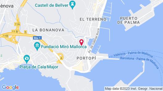 Catalonia Majorica Hotel Map
