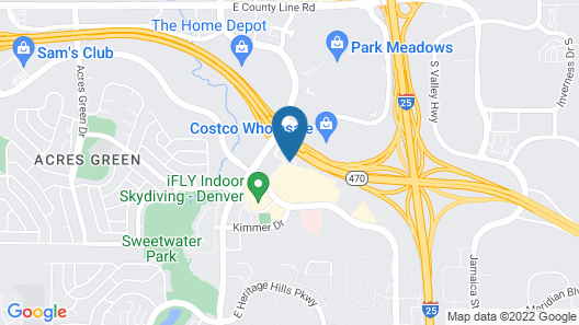 Extended Stay America Suites Denver Park Meadows Map