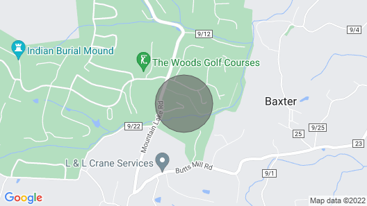 Cozy Townhome At The Woods Resort Golf, Spa, Swimming, Tennis, and Hiking Map