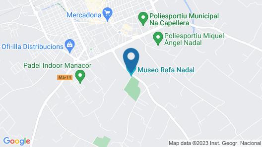 Rafa Nadal Sports Centre Map