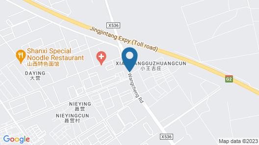GreenTree Inn Tianjin Wuqing Jingbin Industrial Park Chengwang Road Express Hotel Map