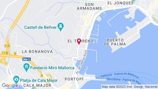 Hotel Feliz Map