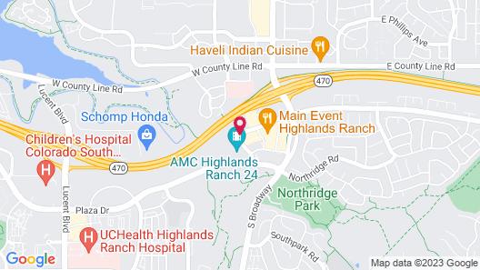 Residence Inn By Marriott Denver Highlands Ranch Map