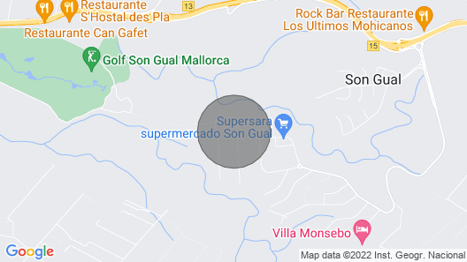 Luxurious Villa with pool, BBQ, swings, tennis court, Volleyball court, Gym  Map
