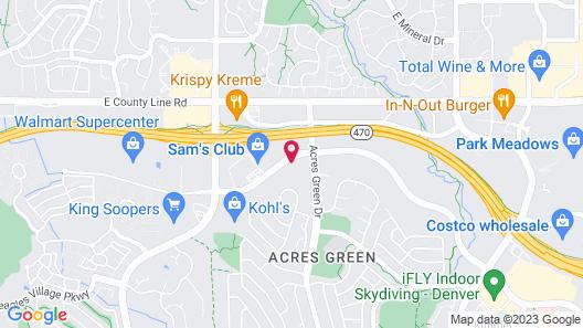 Sonesta ES Suites Denver South Park Meadows Map