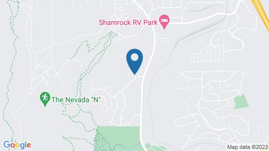 Northeast Reno - Comfortable Condominium Near University Map