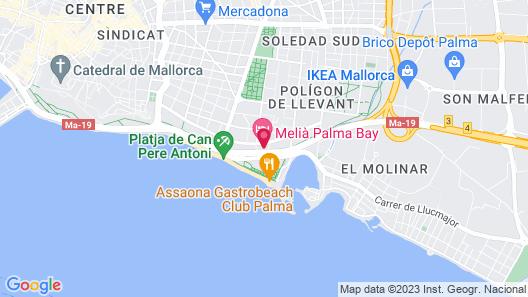 Melia Palma Bay Map