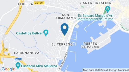 Hotel Victoria Gran Meliá Map