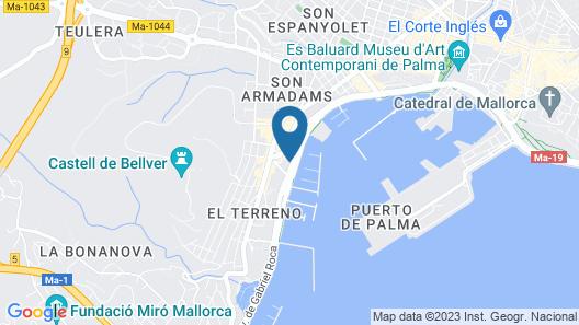 Melia Palma Marina Map