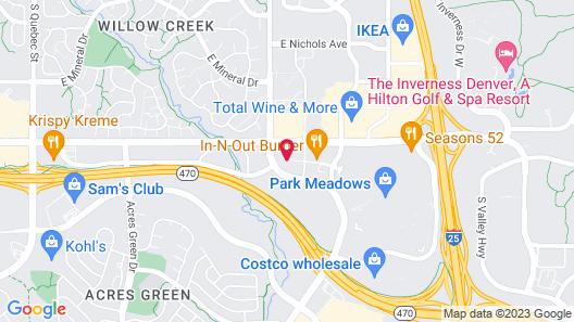 Hyatt Place Denver South/Park Meadows Map