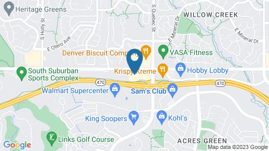 Fairfield Inn & Suites by Marriott Denver Tech Center/South Map
