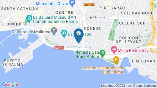Hotel Es Princep Map