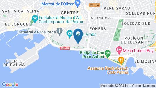 Hotel Calatrava Map