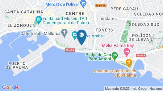 Hotel El Llorenç Parc de la Mar - Adults only +16 Map