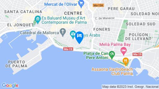 Hotel El Llorenç Parc de la Mar Map