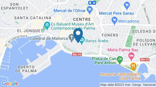 Palacio Ca Sa Galesa Hotel Map